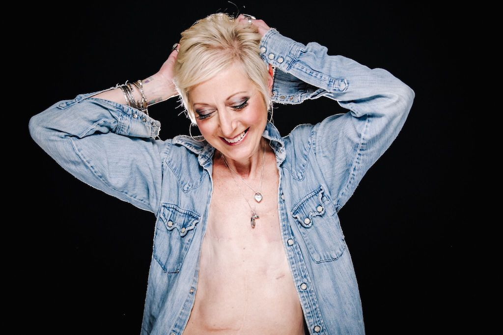Breast Cancer Survivor Marianne - Portrait 3