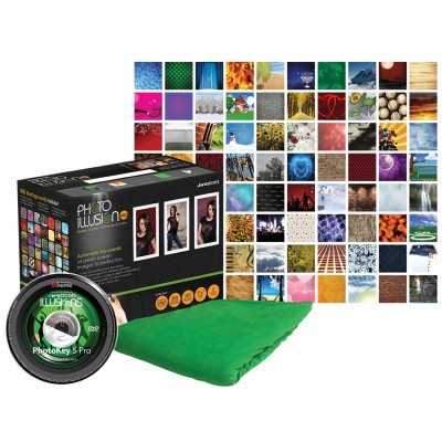 PK5 Pro Collage 400x400 Photo Booth Wedding Portraits using Green Screen