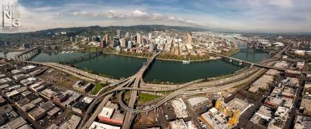 Portland oregon aerial photography1 450x187 Lightapalooza Contest #22 Winner Announced