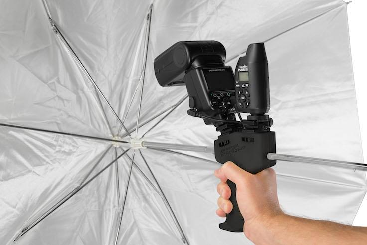 Umbrella Receptacle on a ProGrip Handle