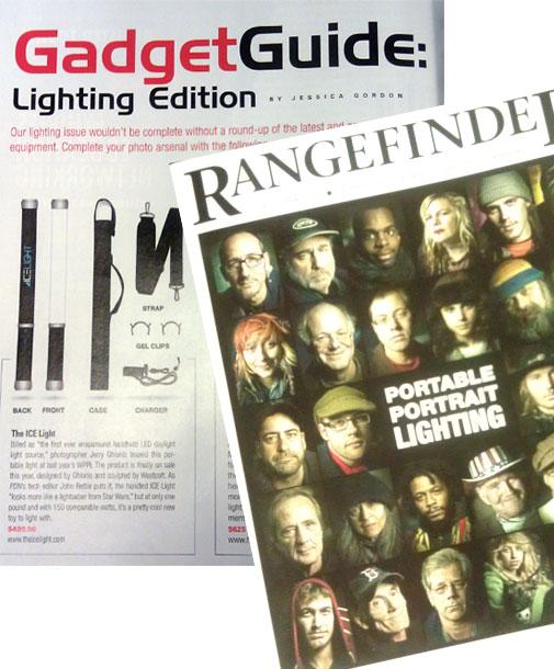 Rangfinder Highlight Westcott Ice Light receives highlight in Rangefinder Magazine
