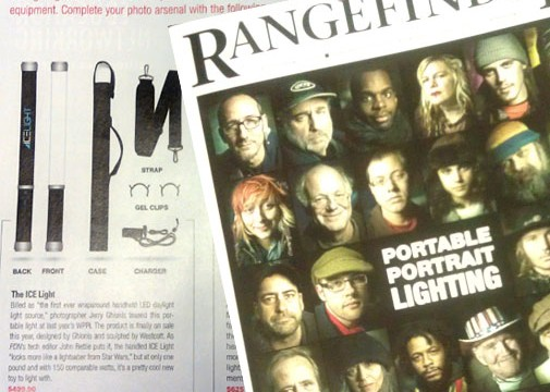 Westcott Ice Light receives highlight in Rangefinder Magazine