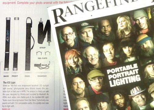 Westcott Ice Light receives highlight in Rangefinder Magazine