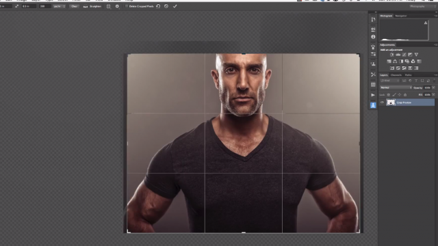Lighting and Post-Production for a Dramatic Headshot