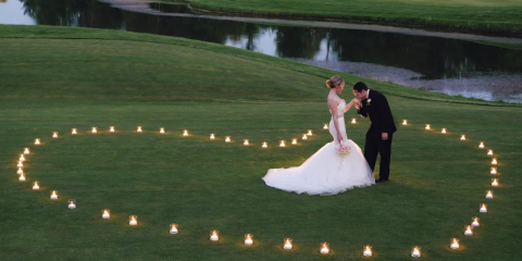 Wedding Cinemagraphs with the Ice Light