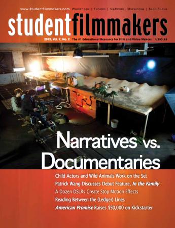 Screen shot 2012 05 03 at 3.39.46 PM 345x450 Kornylak makes cover of Student Filmmakers