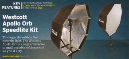 Advanced Photographer Magazine Heading