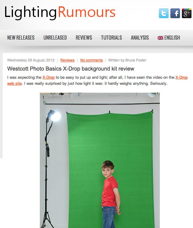 Screen shot 2012 08 31 at 1.08.47 PM Lighting Rumours: X Drop Backdrop Review