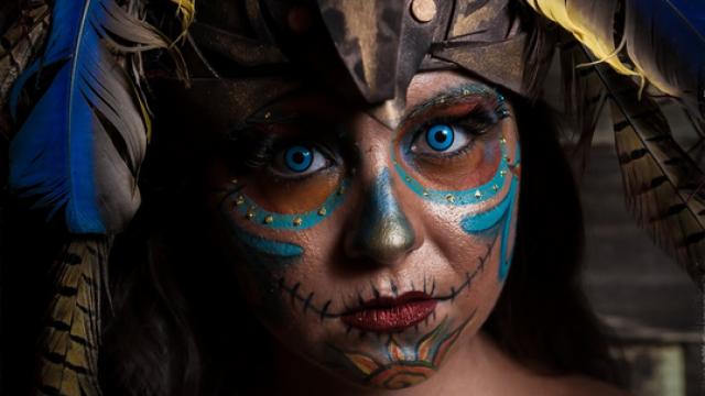 Halloween Portraiture by Tim Breaseale