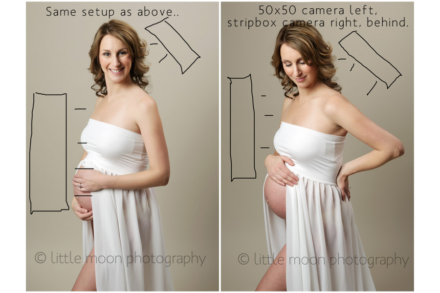 Maternity Shots Set-Up with Amber Scruggs