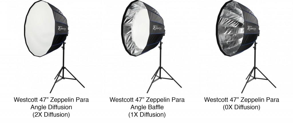 Westcott Zeppelin Parabolic Modifiers