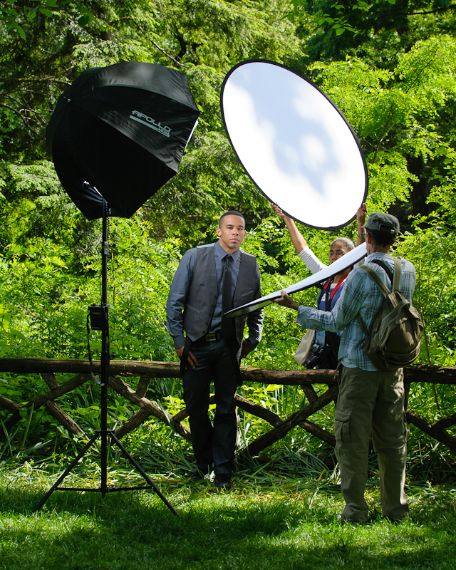 Outdoor Photography Lighting Tips: Shooting Outdoors: Erik Valind On Headshots In The Park