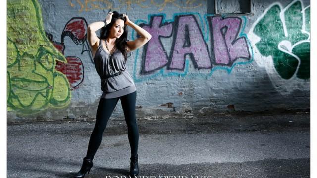 Portrait Shoot at the Graffiti Wall