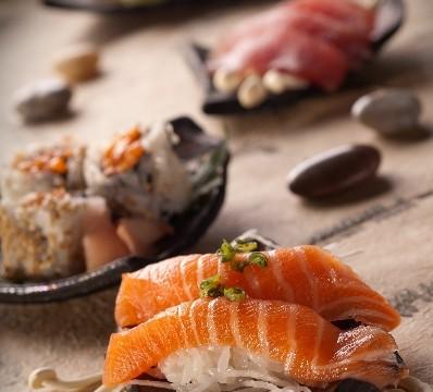 Commercial Shoot: Sushi Photo Setup