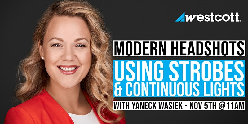 Modern Headshots with Yaneck Wasiek
