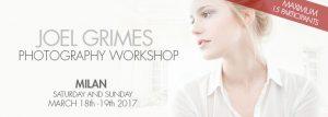 Joel Grimes Photography Workshop