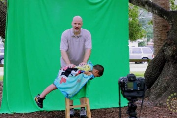 Dave Cross – Childrens Portraits with Green Screen by .