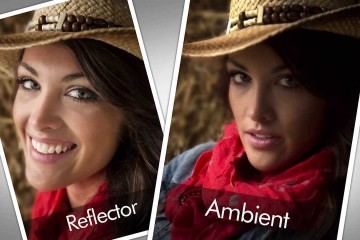 Quick Tip: Rick Sammon using a Reflector Outdoors