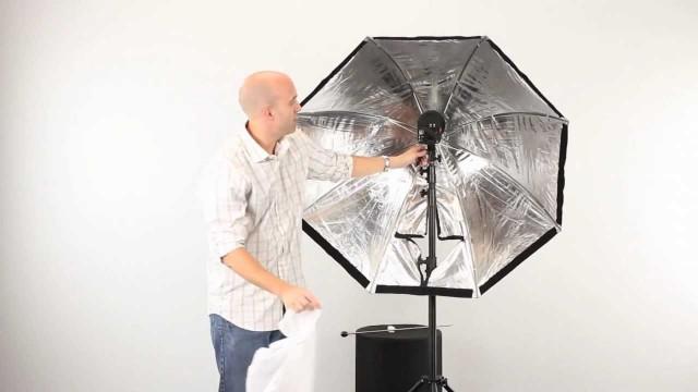 Mounting an Apollo Light Modifier to a Mono Arm