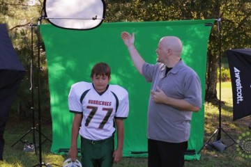 Dave Cross – Sports Photos with Green Screen by .