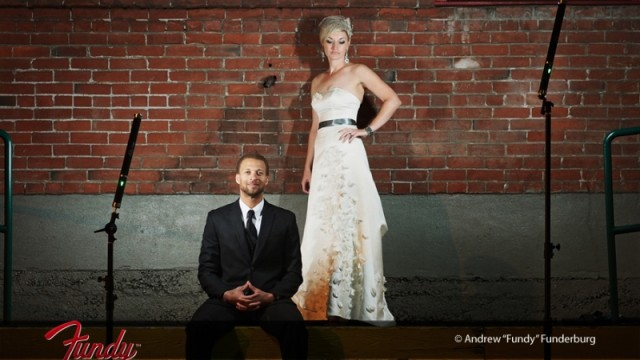 Wedding Portraits using the Ice Light by Andrew Funderburg