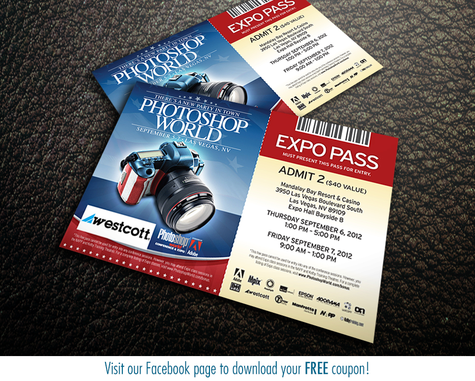 pass Photoshop World Las Vegas Shootout info