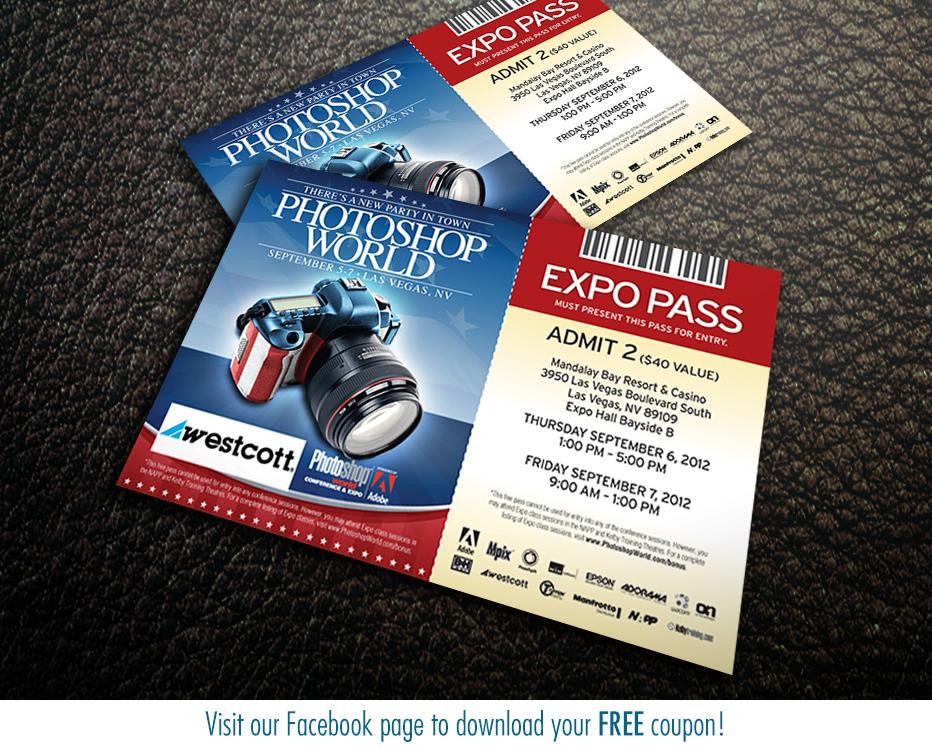 pass Photoshop World Las Vegas Shootout info