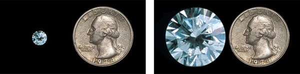 Cary Wolinsky and Bob Caputo Diamond Coin