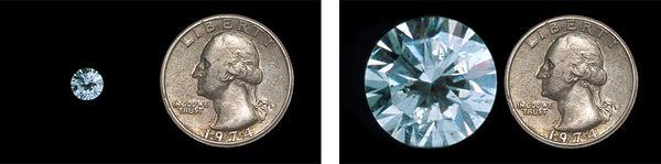 Cary Wolinsky and Bob Caputo Diamond Coin