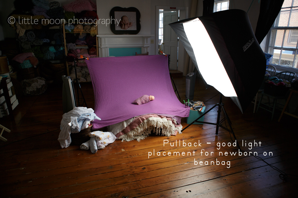 pullbackgoodlighting2 Newborn Lighting Dos and Donts