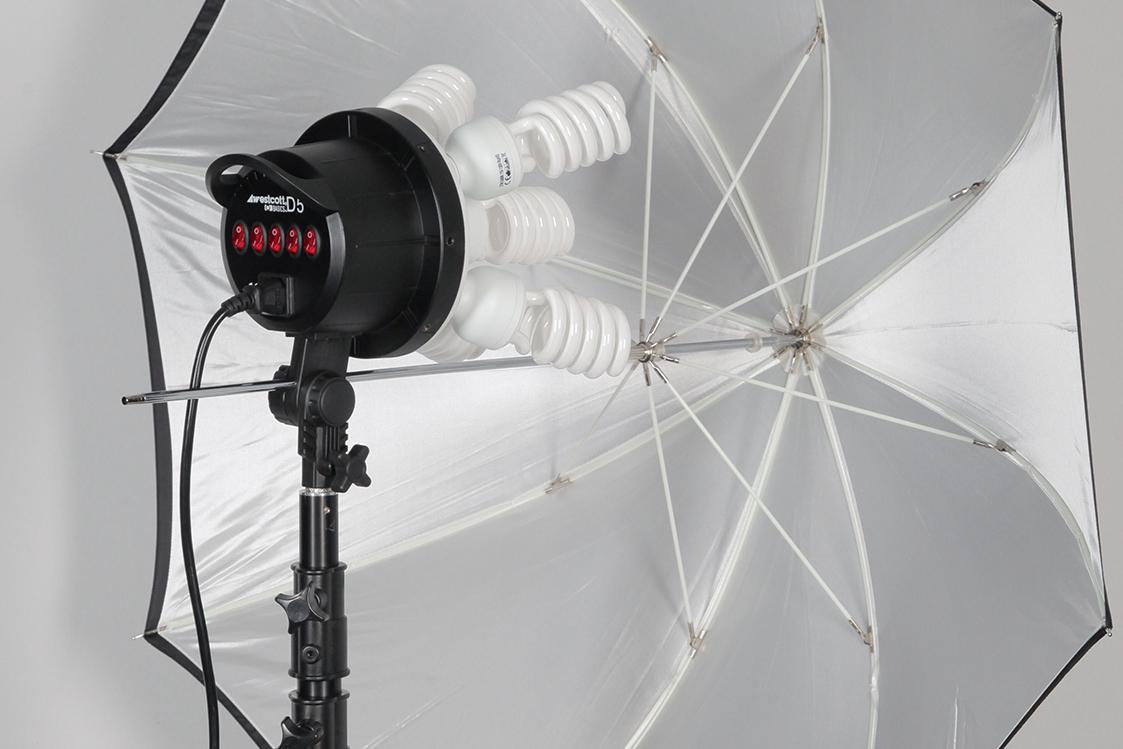 Umbrella Receptacle on a D5 Constant Light