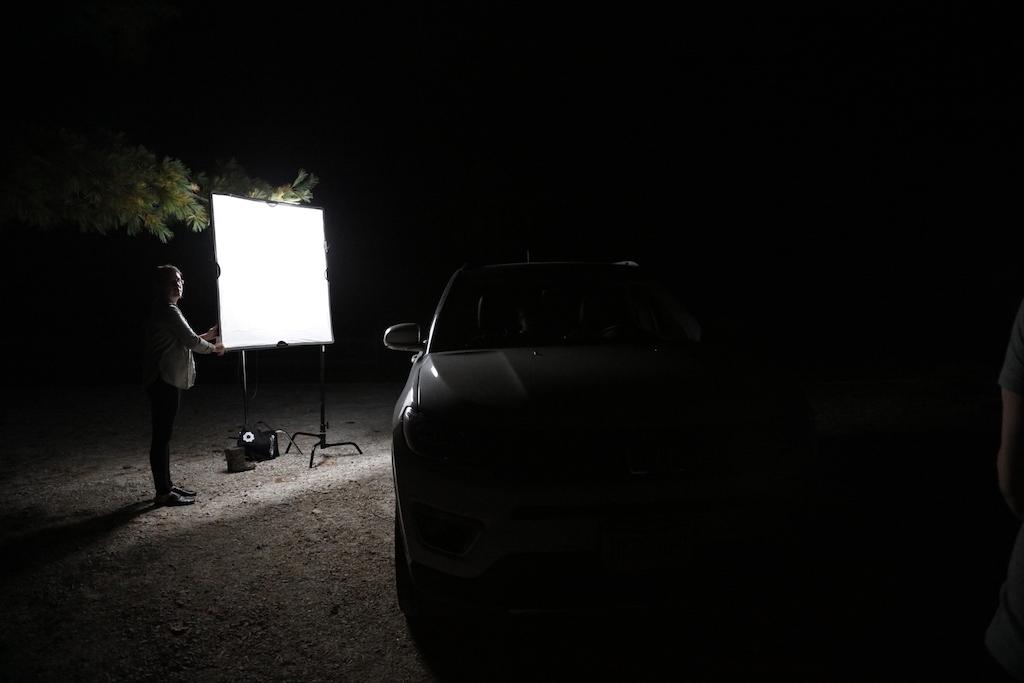 Lighting for Horror Film - Flex and Scrim