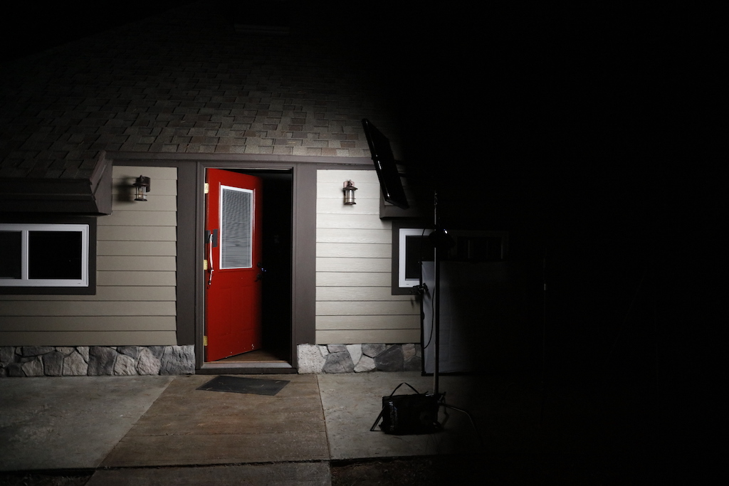 Lighting for Horror Film - Flex as Moonlight