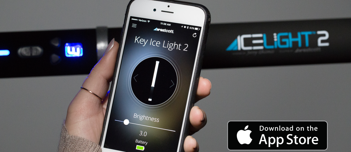 Westcott iOS Ice Light App